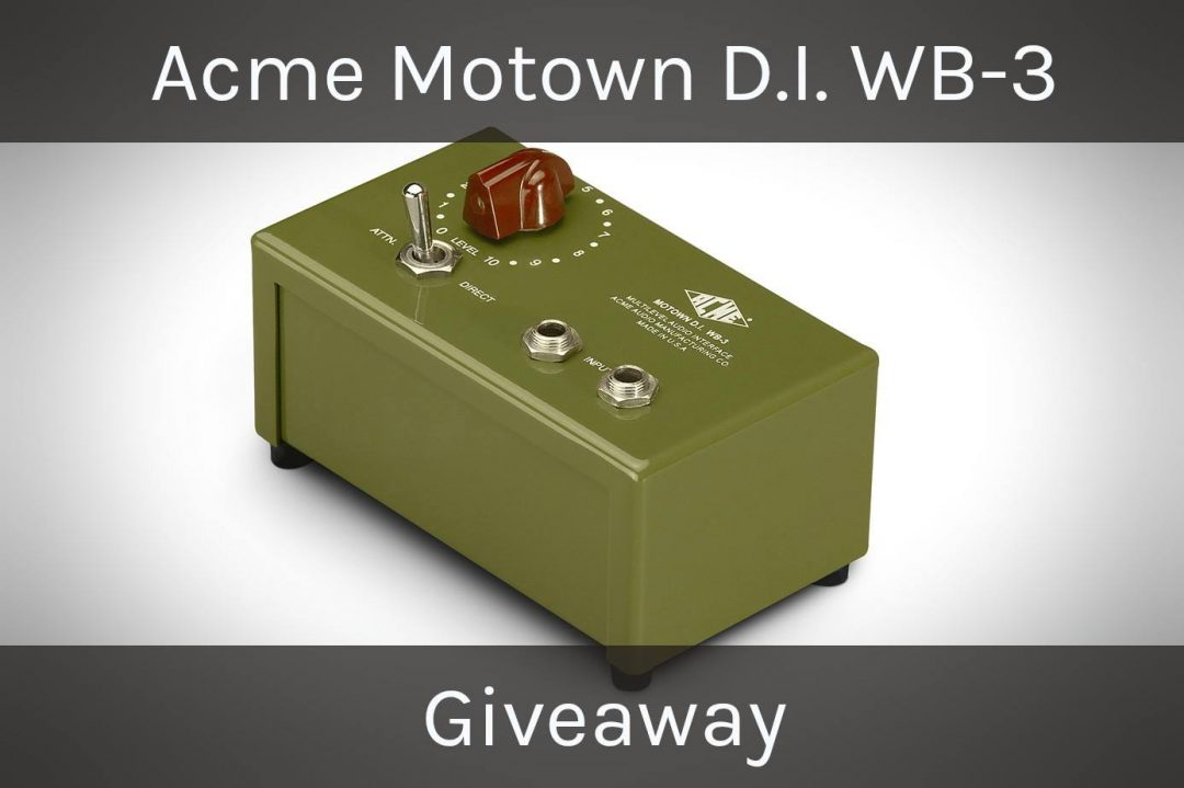 Acme Audio Motown D.i. Wb-3