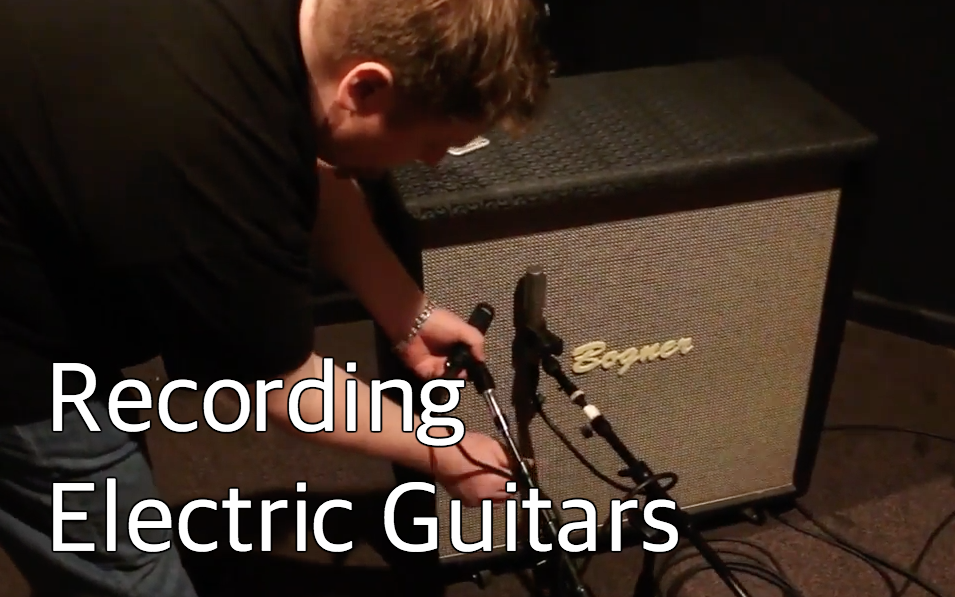 Recording Electric Guitars with Bob Horn & Erik Reichers
