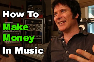 How to make money in music blog