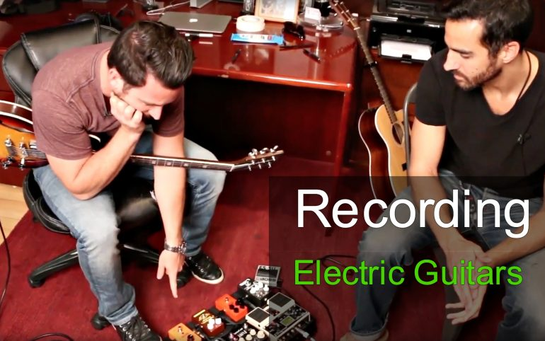 recording electric guitar with phil allen produce like a pro. Black Bedroom Furniture Sets. Home Design Ideas
