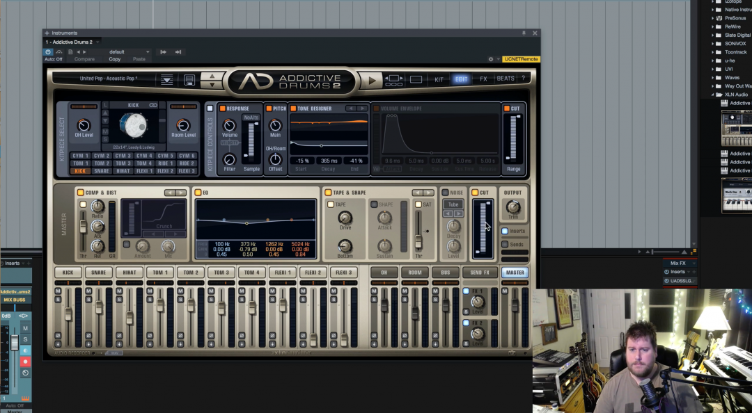 Tutorial: Using Addictive Drums 2 In Presonus Studio One