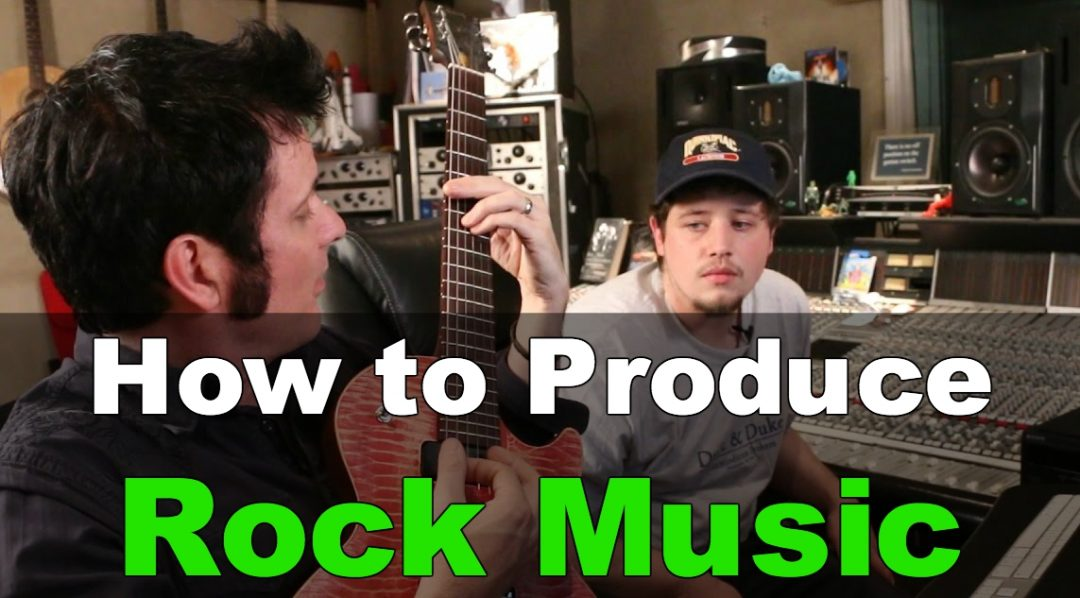How to produce Rock Music