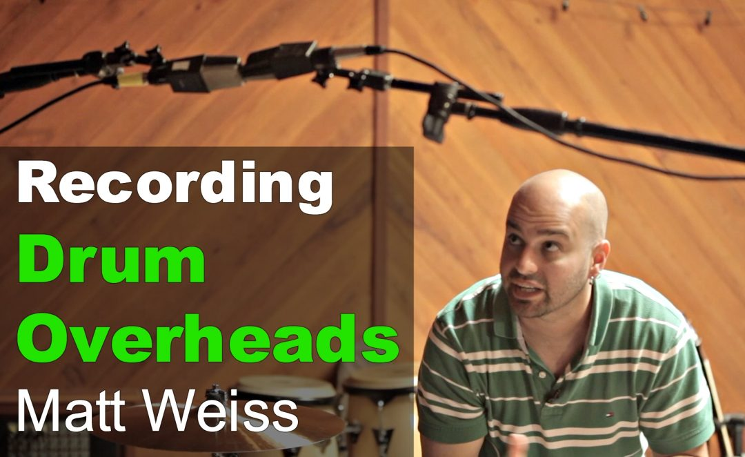 Recording Drum Overheads