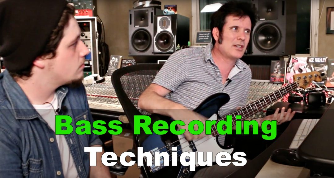 Bass Recording Techniques blog