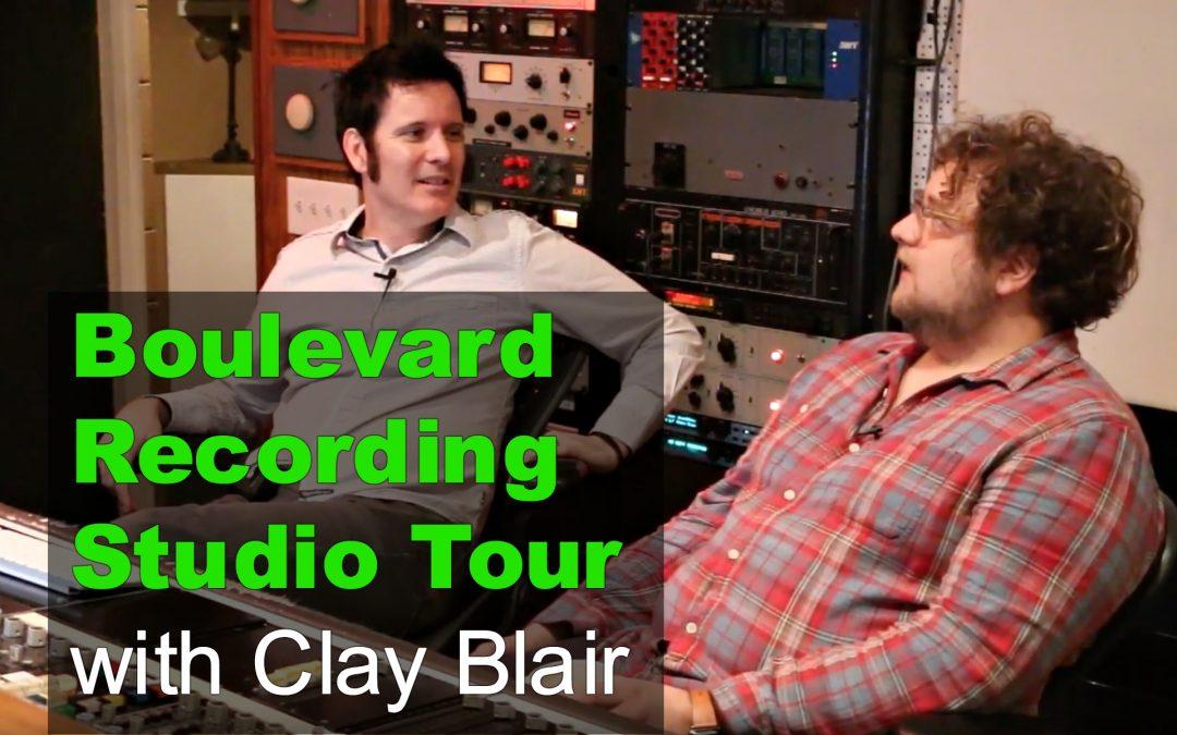 Boulevard Recording Studio Tour