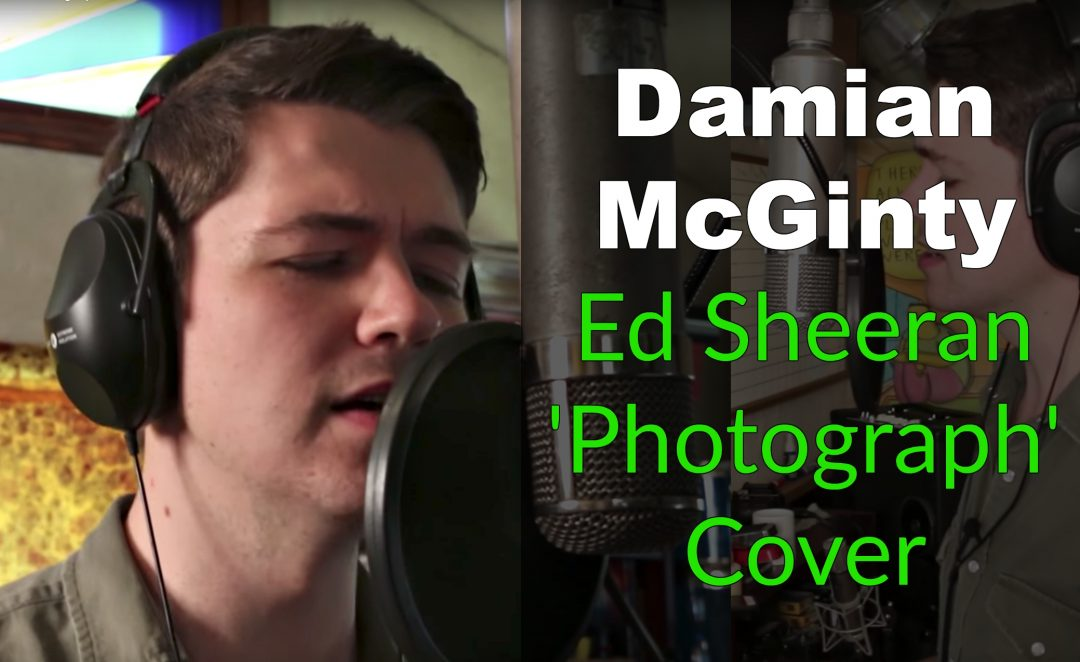 Damien Mc Ginty Ed Sheeran Photograph Cover