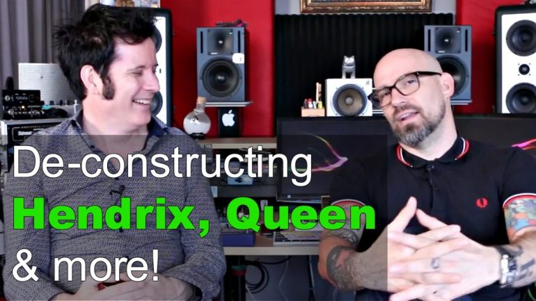 De-constructing Hendrix, Queen and more! - Produce Like A Pro