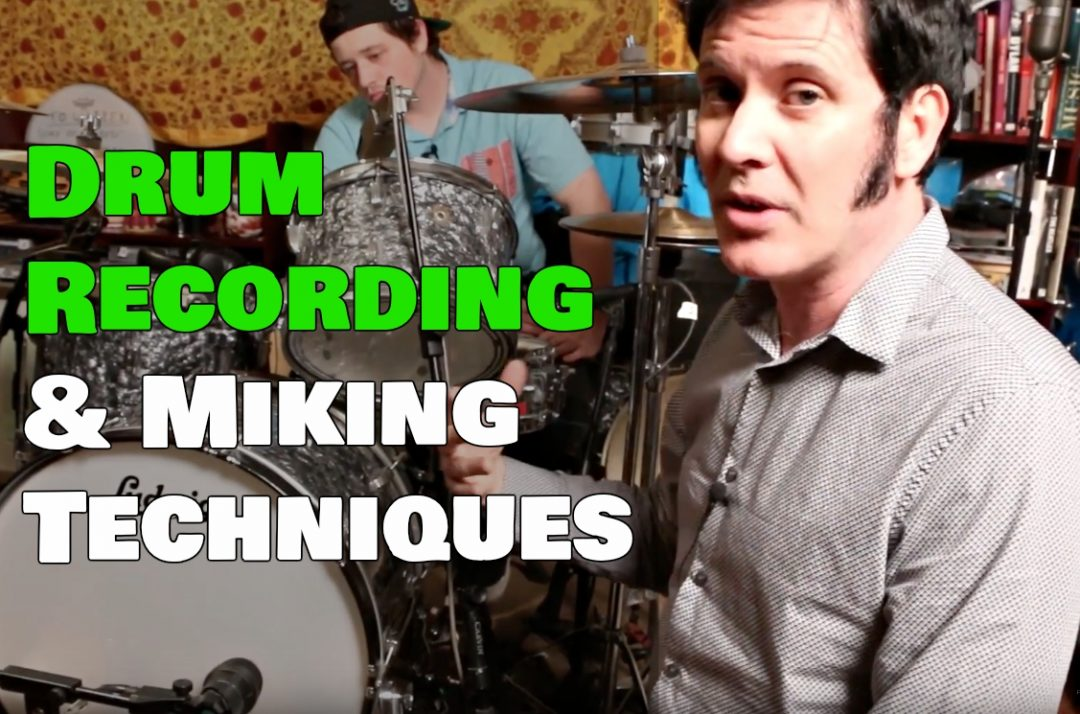 Drum Recording & Miking Techniques Blog
