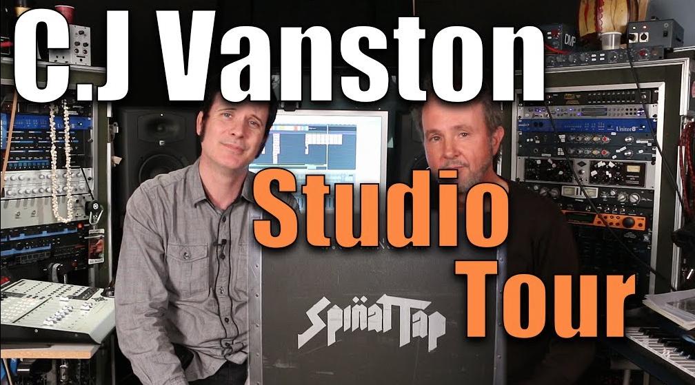 CJ Vanston Studio Tour