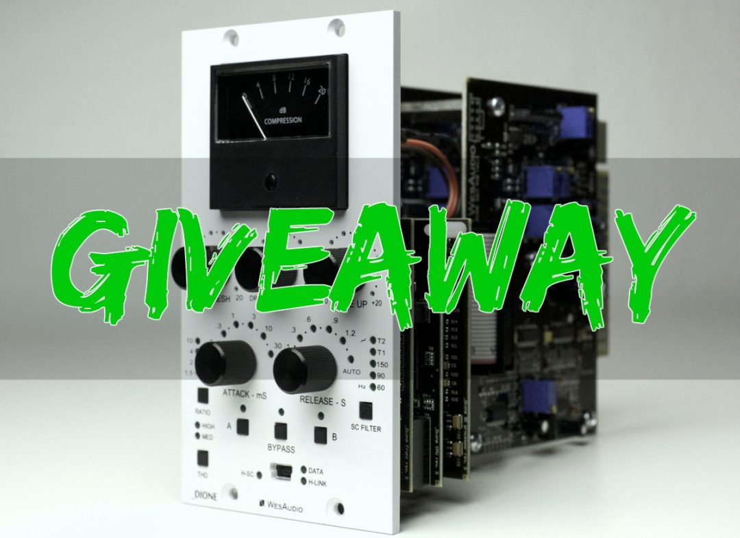 Wes Audio Dione Compressor Giveaway & Review