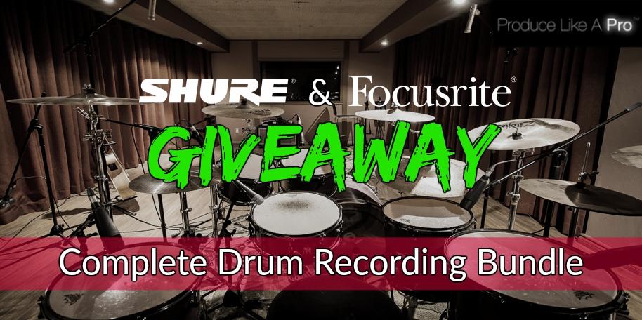 Drum Recording facebook Ad 1