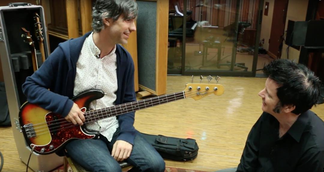 Jon Button bass recording