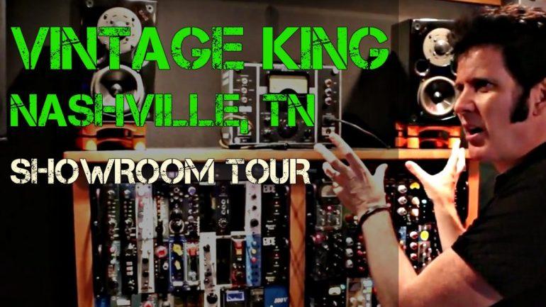 Vintage King Tour in Nashville, TN - Produce Like A Pro