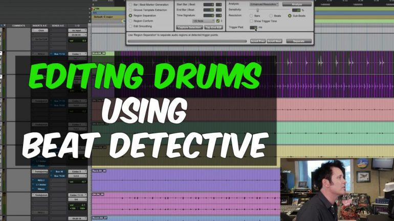 Editing Drums with Beat Detective for the Workday Release