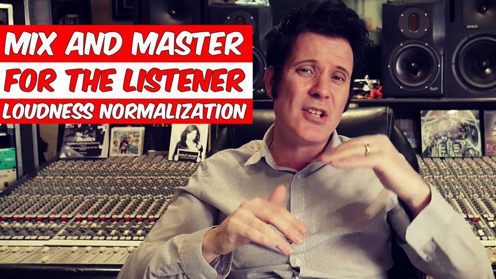 mix and master for the listener