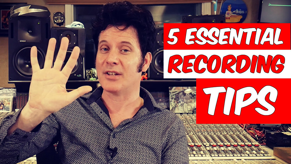 5 essential recording