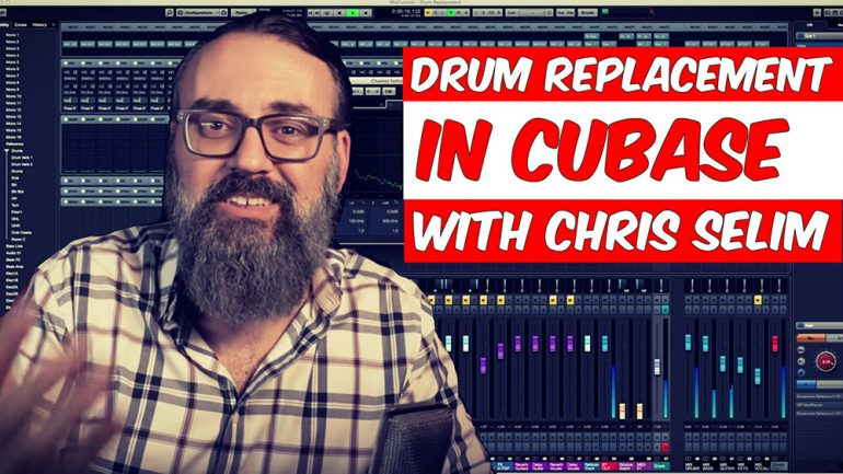 Drum Replacement in Cubase 9 5 with Chris Selim - Produce