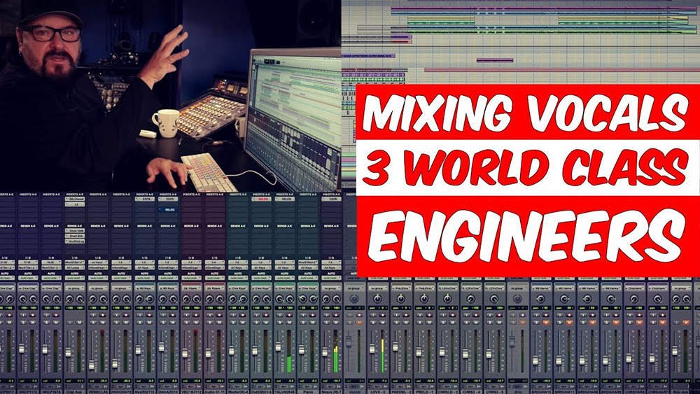 mixing vocals with world class engineers