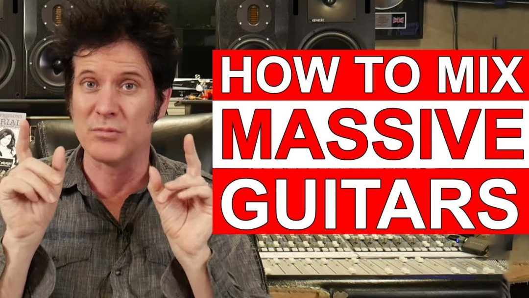How to mix MASSIVE Rock Guitars