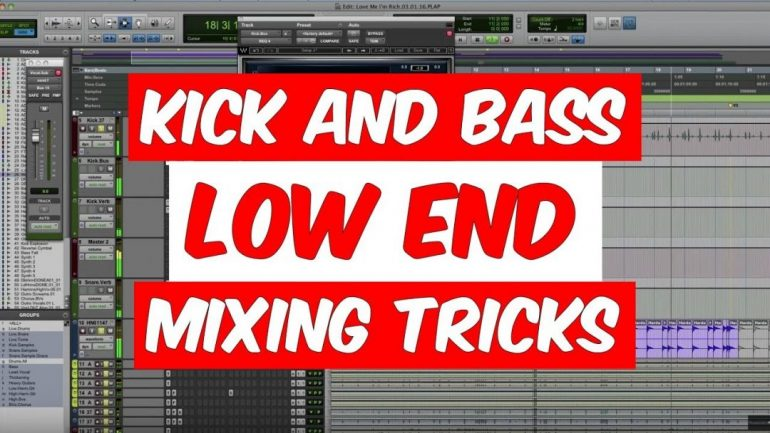 Kick Drum and Bass Mixing Tricks With Ulrich Wild, Cameron Webb