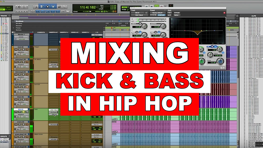 Mixing Low End - Hip Hop