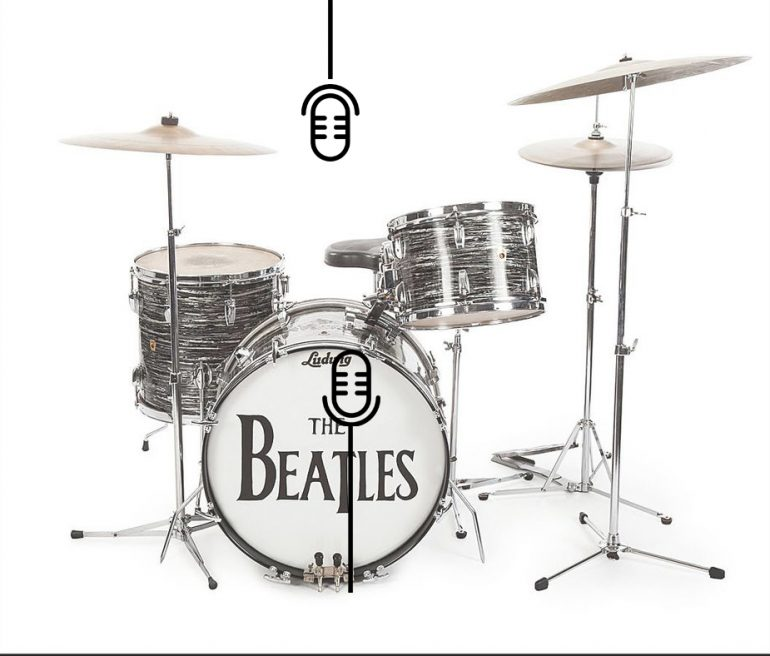 classic studio techniques getting that early beatles drum sound produce like a pro. Black Bedroom Furniture Sets. Home Design Ideas