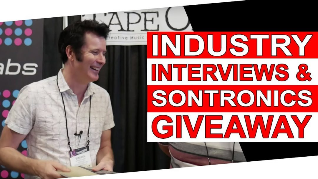 Industry Interviews & Sontronics Microphone Giveaway
