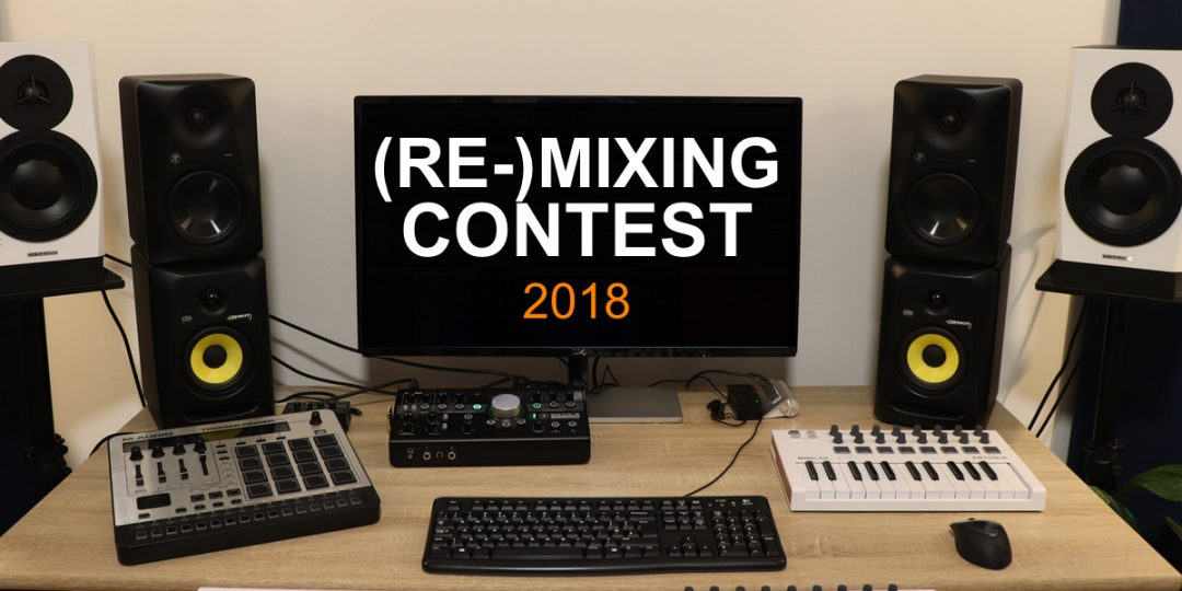 produce like a pro mixing Remixing 2018 contest