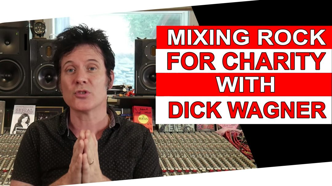 mixing rock for charity