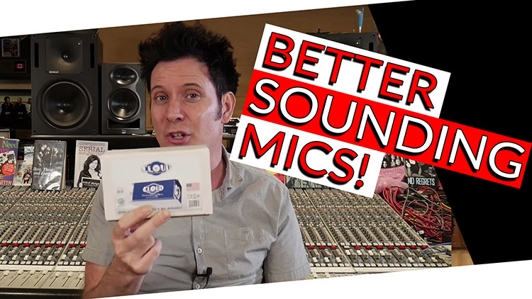 BETTER SOUNDING mics_