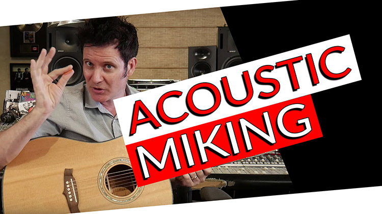 acoustic miking_Recording