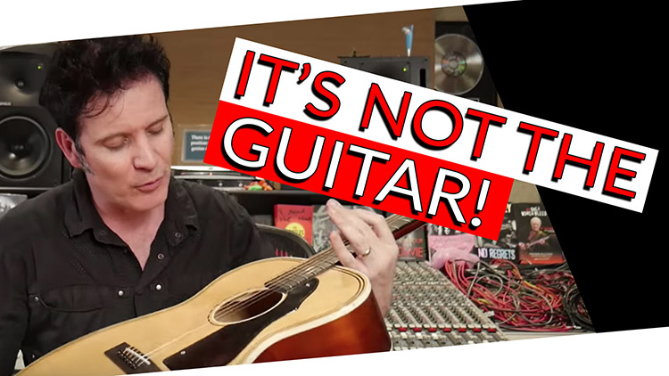 The biggest factor that influences acoustic guitar sound | FAQ Friday