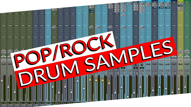 POP.ROCK DRUM SAMPLES BLOG