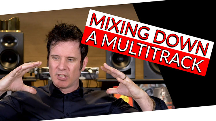 mixing down a multitrack-1