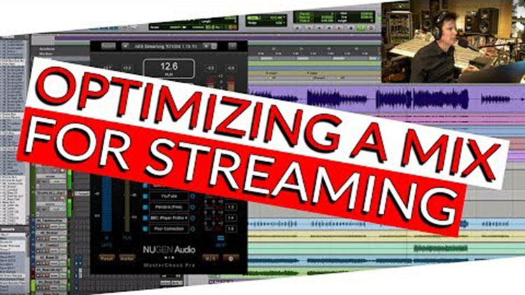 optimizing a mix for streaming