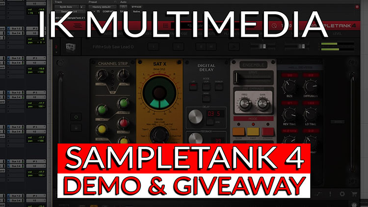 IK Multimedia's SampleTank 4-1