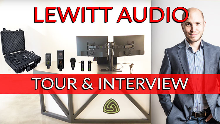 Lewitt Audio Tour & Interview-1