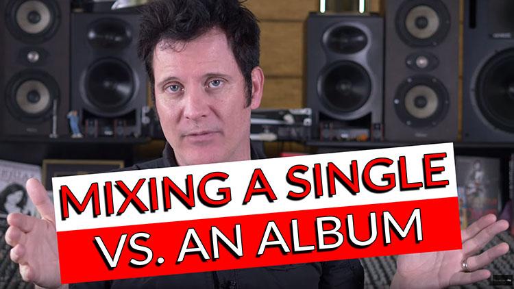 Making a single vs an album-1