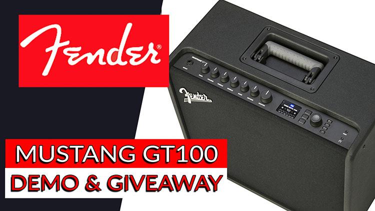 Fender mustang gt100-1