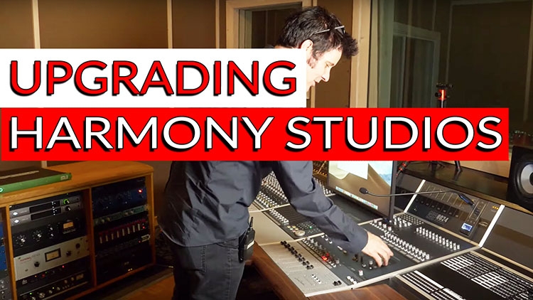 Harmony Studio Tour and Setup by Pro Audio LA - Produce Like A Pro