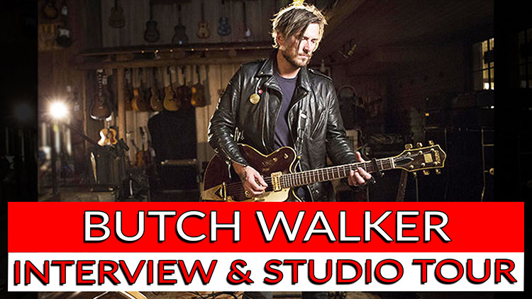 BUTCH WALKER INTERVIEW & STUDIO TOUR-1