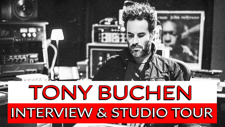 Tony Buchen Interview and studio tour-1