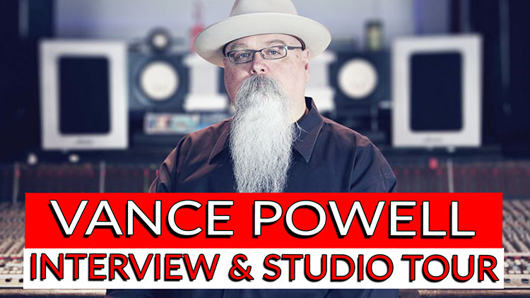 Vance Powell Interview & Studio Tour-1