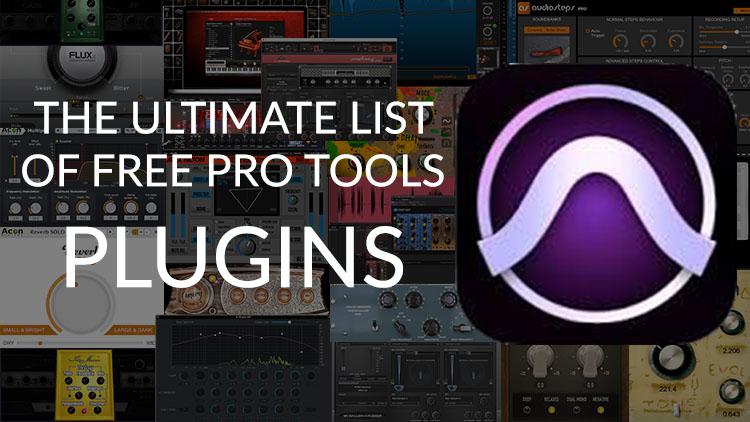Ultimate list of free Pro Tools plugins