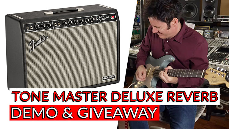 FENDER TONE MASTER DEMO AND GIVEAWAY-1