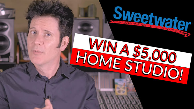 WIN A HOME STUDIO WITH SWEETWATER-1