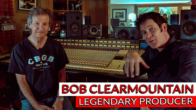 bob clearmountain Interview