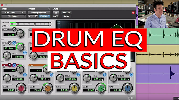Drum EQ Basics