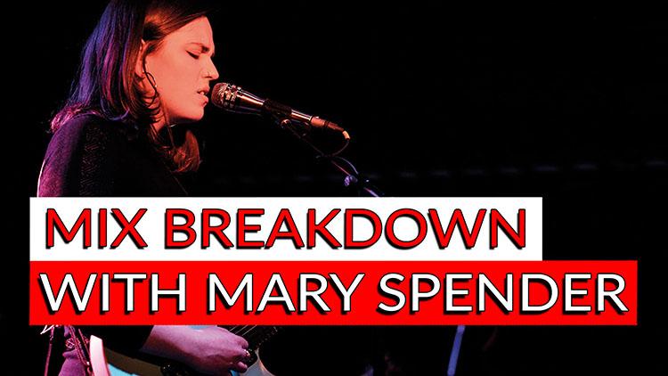Mary Spender Mix Breakdown
