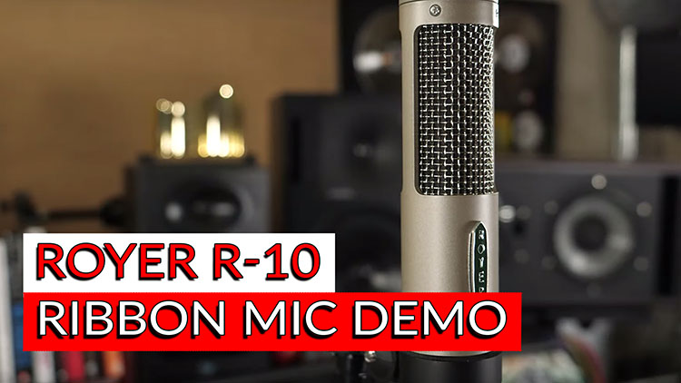 Royer R-10 Ribbon Mic